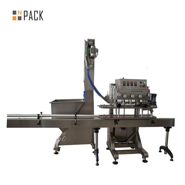 اتوماتیک درب اتوماتیک 6 چرخ Linear Trigger Capping Machine 3
