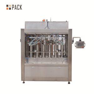 دستگاه پر کننده مایع اتوماتیک سس گوجه فرنگی