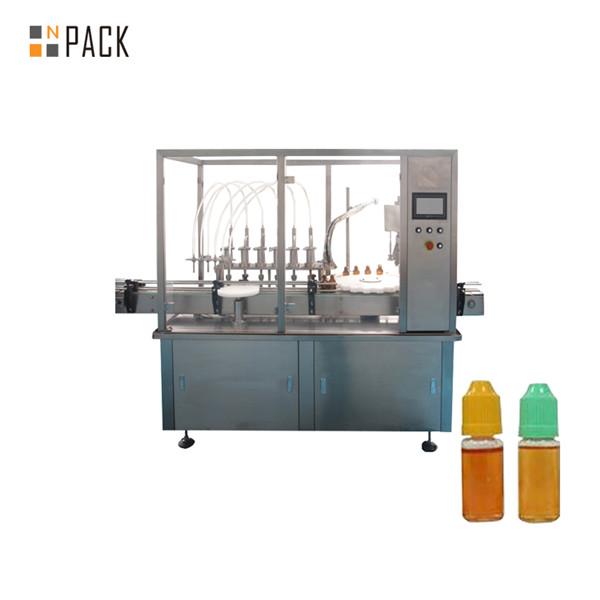 دستگاه پرکن کننده دئودorizر مایع ظرفشویی اتوماتیک