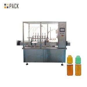 دستگاه پرکننده مایع پمپ پاستالتیک برای بطری ویال کوچک