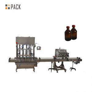 دستگاه دربندی بطری پلاستیک اتوماتیک اسپیندل Capper PET