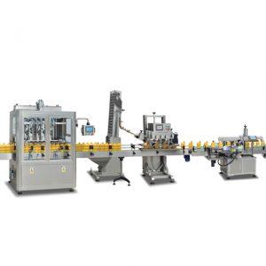 کامل اتوماتیک 2 در 1 دستگاه sus304 پر کننده بطری برای ساخت روغن زیتون
