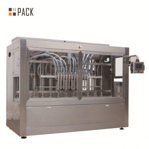 دستگاه پر کننده 8 نازل اتوماتیک مایع / خمیر / سس / عسل