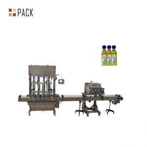 دستگاه پر کردن مایع روغن موتور بطری 1-5L بطری اتوماتیک