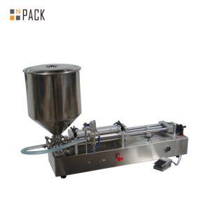 دستگاه پر کننده بستنی بسیار محبوب / دستگاه پر کننده دو سر / دستگاه پرکننده ناخن