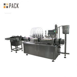 10ml & 60ml 3 در 1 کارخانه قیمت پر کردن مایع و برچسب زدن ماشین آلات پر کردن بطری eliquid